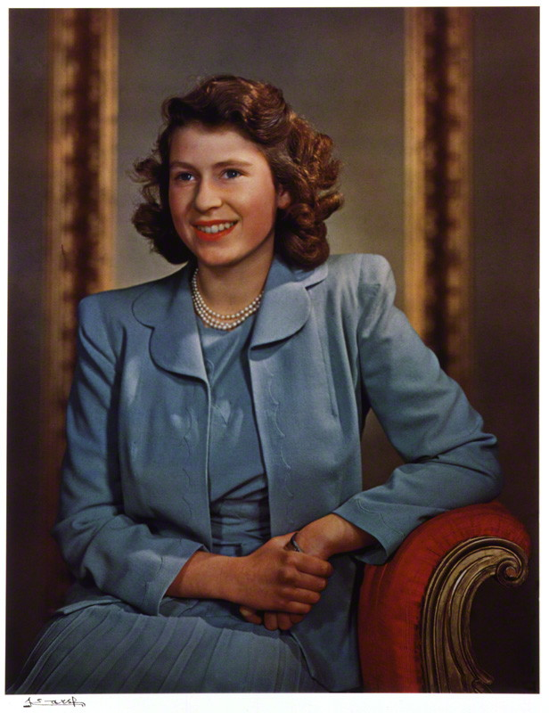 Queen Elizabeth II by Yousuf Karsh