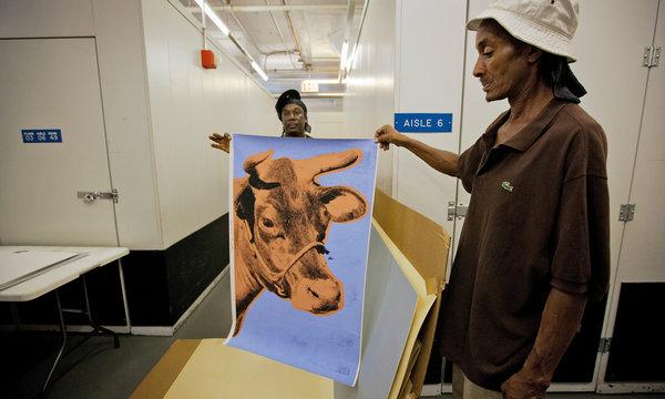 Darryl Kelly and Warhol Piece