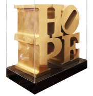 HOPE Sculpture, 2009 - Robert Indiana