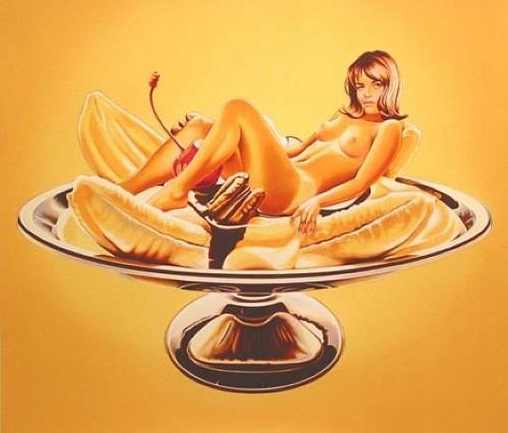 Banana Split, 2000 - Mel Ramos