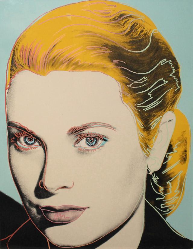 Grace Kelly, 1984 - Andy Warhol