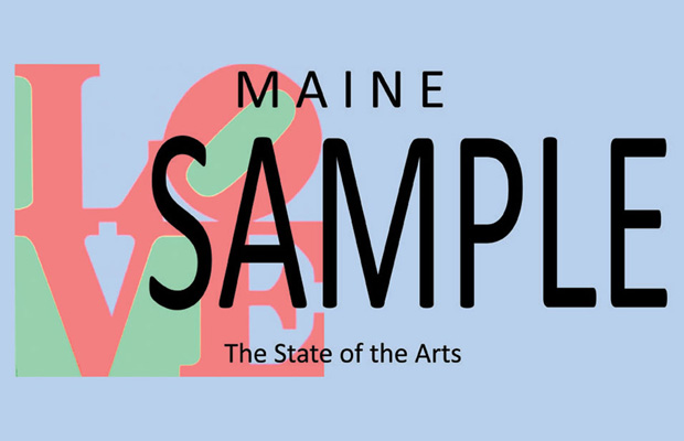 Maine License Plate Sample