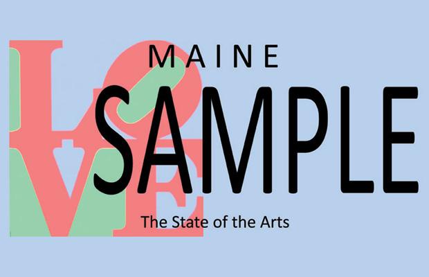 Maine License Plate Sample