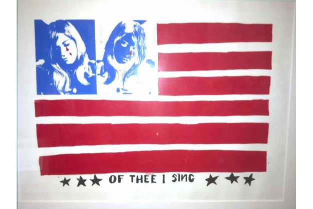 """""""Of Thee I Sing"""", Andy Warhol"""