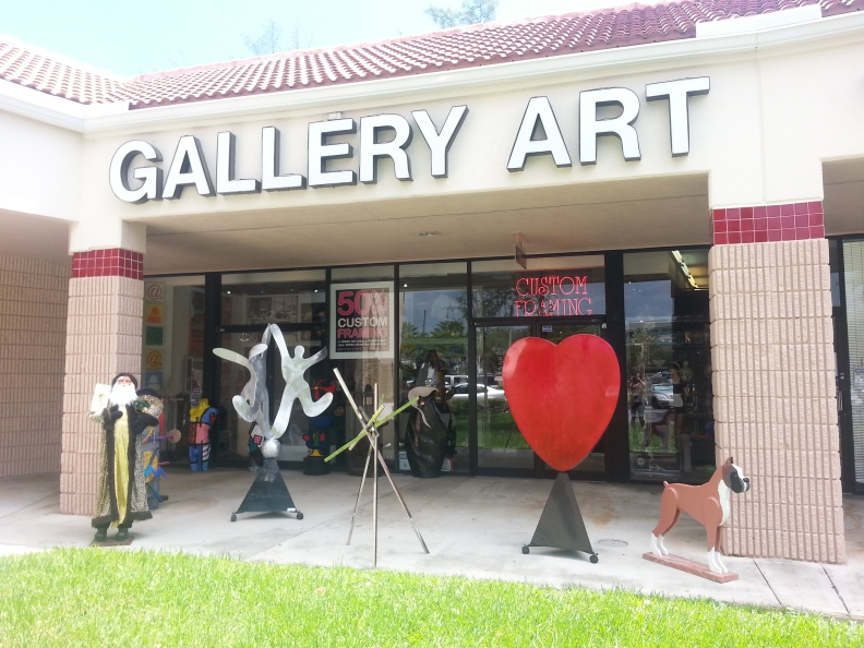 Come visit us for you Fine Art needs!