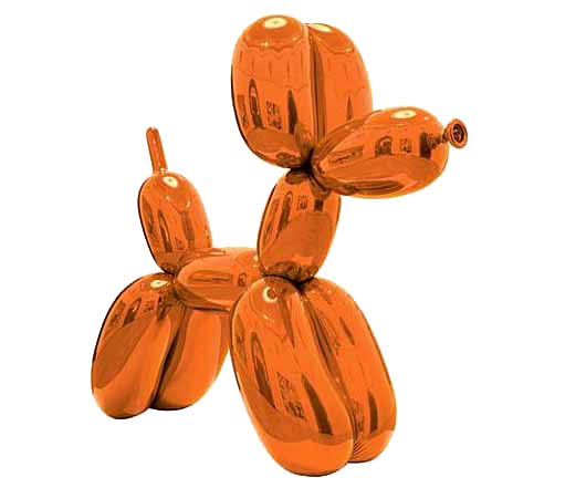 Balloon Dog (Orange), Jeff Koons, 1994-2000