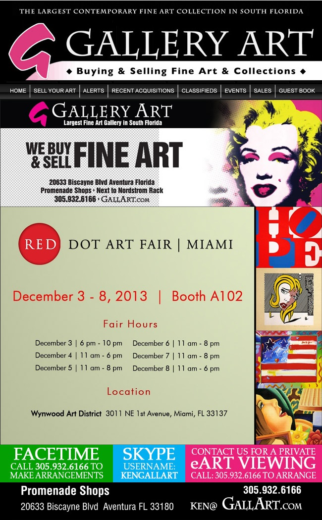 Gallery Art @ Red Dot Art Fair Miami