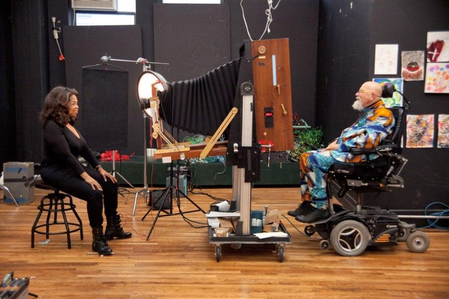 Chuck Close & Oprah Winfrey