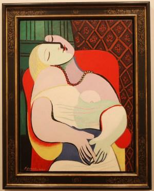 "Picasso ""La Reve"", 1932"