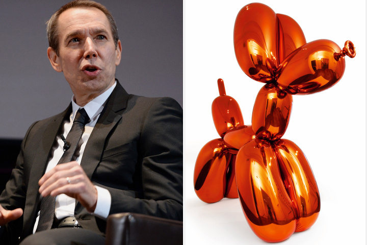 "Jeff Koons & ""Balloon Dog"""
