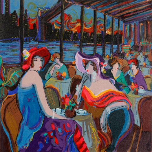 """Isaac Maimon - New York, Serigraph 20"""" x 29"""", Edition of 275"""