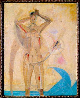 Rufino Tamayo's La Venus Dorada - 1955
