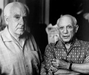 Zervos and Picasso, 1960.