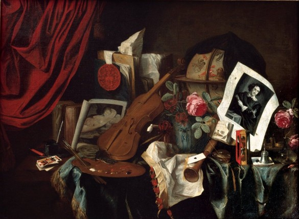 Jacques De Claeuw, Vanitas (1677). Photo: courtesy the Cummer Museum of Art and Gardens in Jacksonville, Florida.