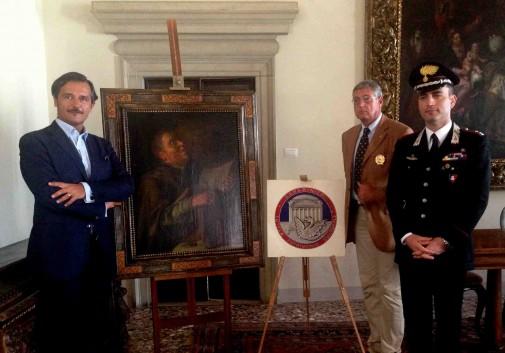 "Return of ""Rembrandt"" to Cini Foundation on Wednesday Photo: via Gente Veneta"