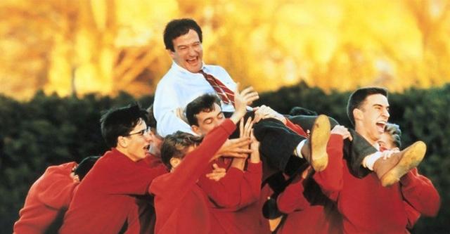 Robin Williams in Dead Poets Society, 1989