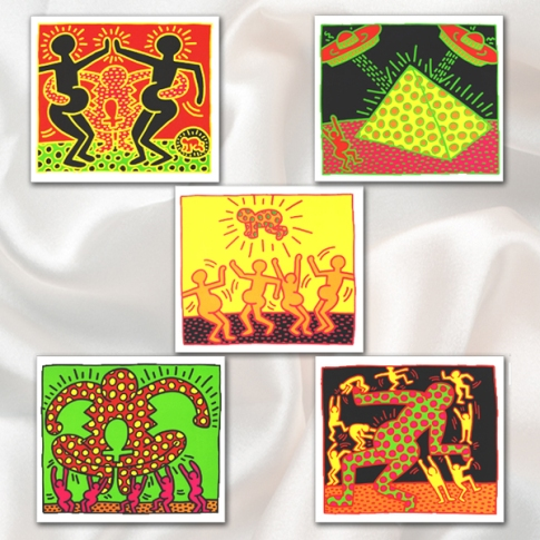 Keith Haring - Fertility Suite, 1983