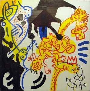 Keith Haring, Untitled - 1988