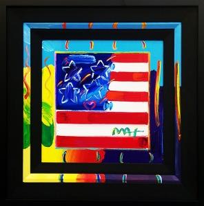 Peter Max, Flag - 2013