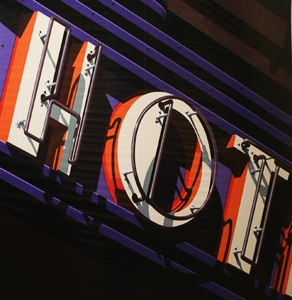 Robert Cottingham, Hot - 2009