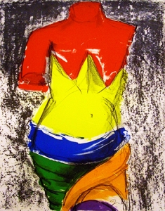 Jim Dine, The Bather - 2005