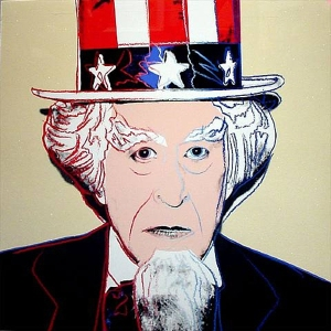 Myths: Uncle Sam FS II.259 - Andy Warhol, 1981