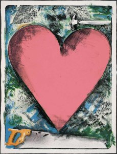 A Heart at the Opera - Jim Dine, 1983