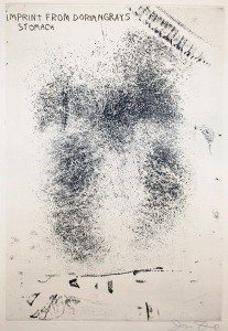 Imprint from Dorian Gray's Stomach - Jim Dine