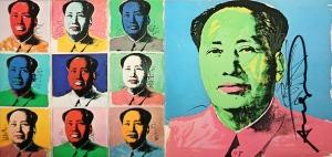 Mao (portfolio of 10 Invitation