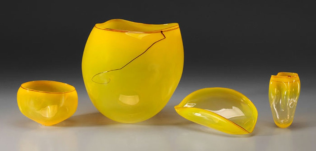 CHIHULY yellow sun HIGH RES
