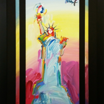 Statue of Liberty, Peter Max