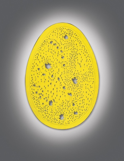 Lucio Fontana Concetto spaziale la fine (1964) Estimate: In the region of $25 million. Image: Courtesy of Christie's.