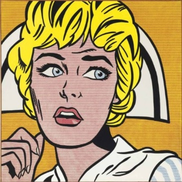 Roy Lichtenstein Nurse (1964) Estimate: In the region of $80 million Image: Courtesy of Christie's.