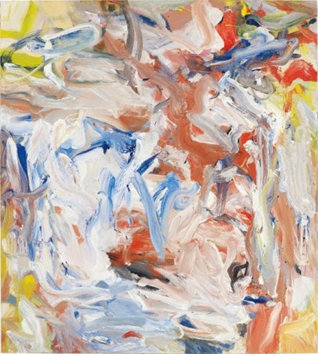 Willem de Kooning Untitled XXVIII (1977)  Estimate: $10–15 million.  Image: Courtesy of Phillips