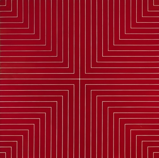 Frank Stella Delaware Crossing (1961). Estimate: $8–12 million. Image: Courtesy of Sotheby's.