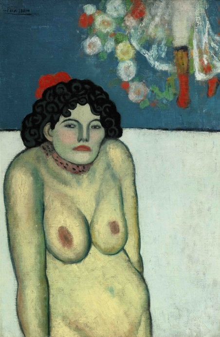 Pablo Picasso La Gommeuse (1901) Estimate: In the region of $60 million. Image: Courtesy of Sotheby's.