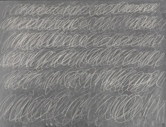Cy Twombly Untitled (New York City) (1968) Estimate: in the region of $60 million Image: Courtesy of Sotheby's