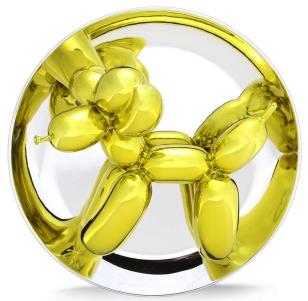 Yellow Balloon Dog available at GALLART.com