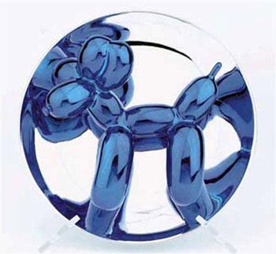 Blue Balloon Dog available at GALLART.com