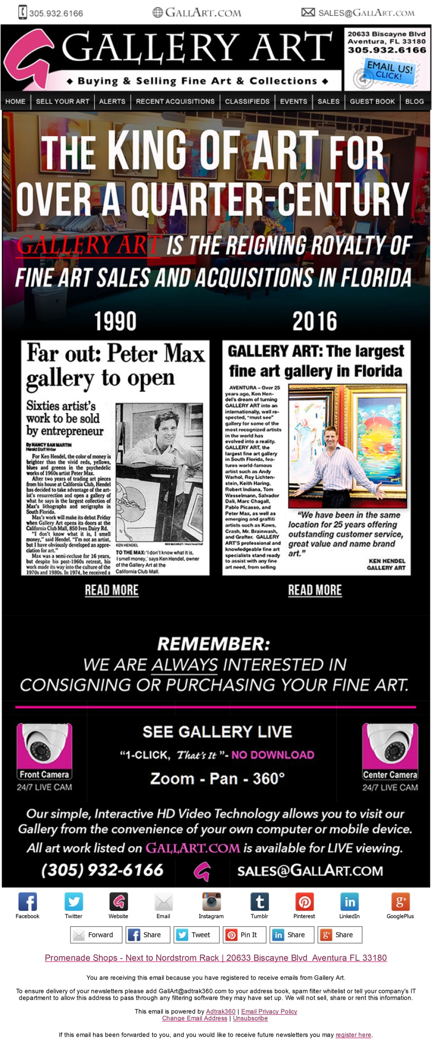 Gallery Art eNewsletter-1
