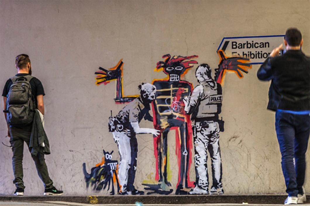 Banksy for Basquiat