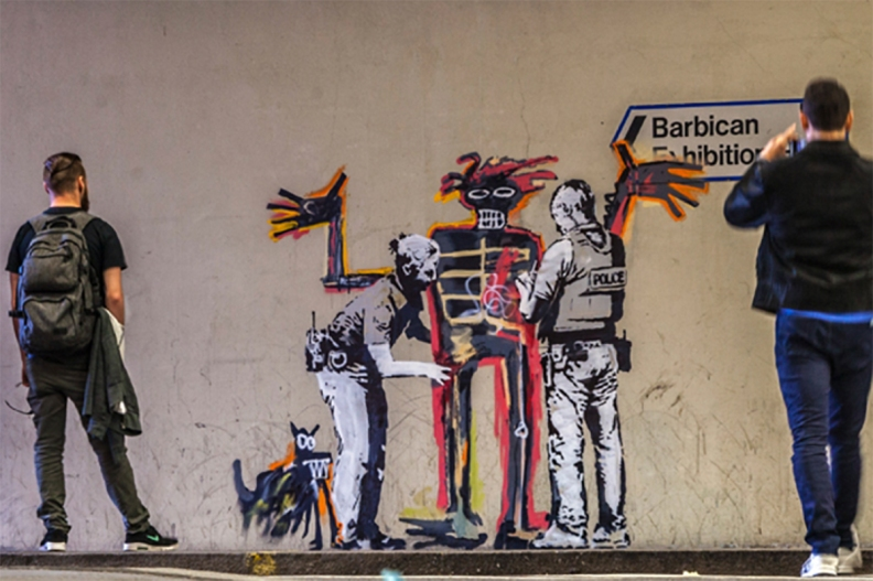 Banksy for Basquiat