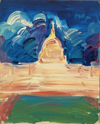 PETER MAX - MONUMENT (GallArt.com)