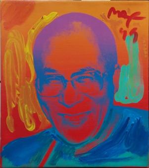 PETER MAX - DALAI LAMA (GallArt.com)