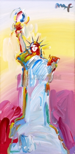 PETER MAX - STATUE OF LIBERTY