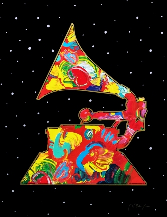 PETER MAX - GRAMMY (GallArt.com)