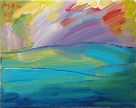 PETER MAX - HORIZON