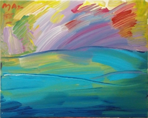 PETER MAX - HORIZON (GallArt.com)