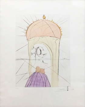 Salvador Dali - MUSEUM OF GENIUS AND WHIM - 26 x 19 inches