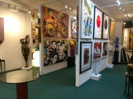 Gallery Art - Aventura, Florida - 8,000 Sq. Ft. Showroom